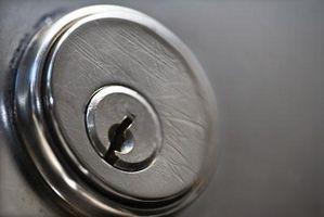 Cerradura de Deadbolt doble cara voluntad no abierta desde dentro