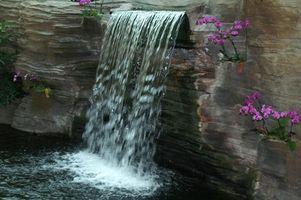 Cómo hacer una cascada Interior