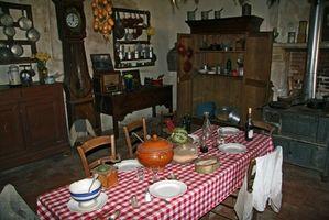 Ideas para una cocina de casa del país