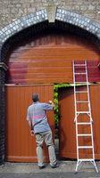 Cómo pintar paredes de altura