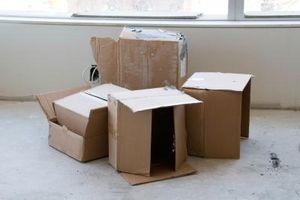 Cómo utilizar cartón para empresa encima de un colchón