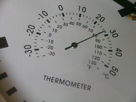 Cómo instalar un termómetro en un refrigerador