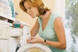 Cómo remojar la ropa una lavadora de carga frontal