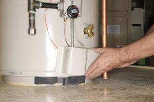 Elementos de baja densidad y alta densidad agua calentador
