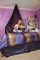 Ideas de decoración para un cuarto adolescente glamoroso