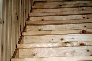 Cómo terminar de escaleras