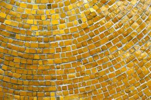 Azulejo mosaico de medidas concretas