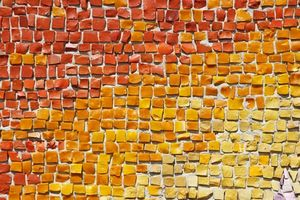 Cómo utilizar yeso con murales de azulejo