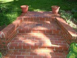 Cómo hacer ladrillos y mortero pasos