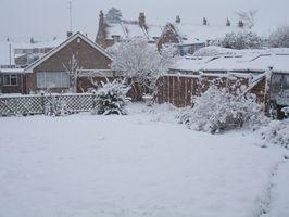 Remoción de nieve caliente casera