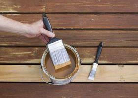 Cómo eliminar el olor de la tinta para madera