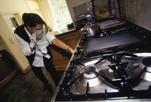 Cómo utilizar un manómetro de estufa