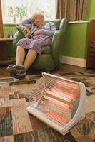 Calefacción BTU vs tamaño de la habitación