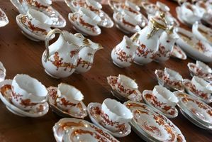 Cómo limpiar la porcelana de Meissen