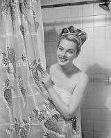 Pintura Ideas para un cuarto de baño estilo años 50