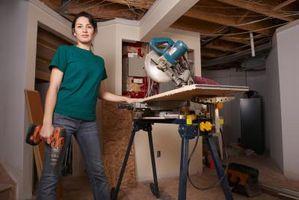 Cómo instalar piso laminado resistente a la humedad en un sótano