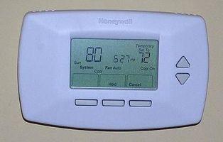 Cómo cablear una casa para un termostato programable