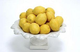Cómo hacer limones decorativo