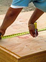 """Cómo cortar madera contrachapada de 3/4"""""""