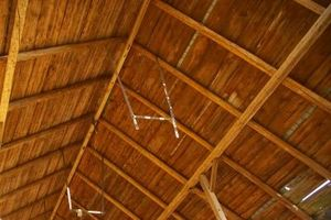 Ideas para techos de madera inusuales