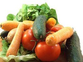 Verduras de huerto orgánico