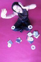 Púrpura pintura Ideas para habitación de una niña