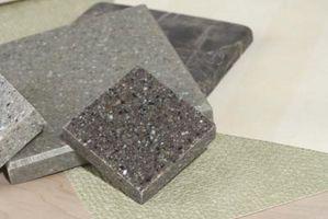 Cómo ocultar las costuras del azulejo del granito