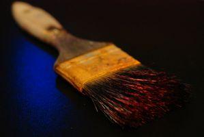 Cómo curar la pintura antes de un revestimiento