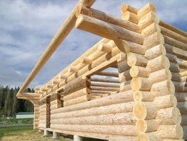 Cómo construir una casa de registro prefabricada