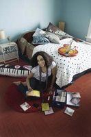 Dormitorio colores para las paredes para adolescentes