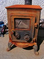 Usos de la arcilla calefacción dedales