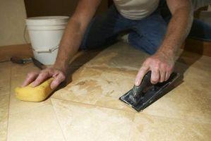 Cómo hacer un borde de madera para baldosas