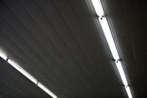Cómo encender y apagar luces fluorescentes