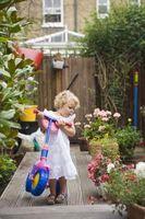 Herramientas de jardinería de contenedor