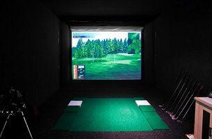 Cómo decorar una habitación con un tema de Golf