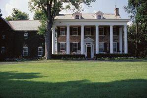 Cómo el paisaje en el estilo Colonial