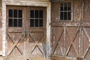 Reutilización de puertas de granero