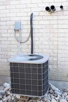 Cómo instalar aire acondicionado en una casa construida sobre un cimiento de losa