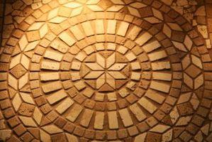 Cómo calcular el requisito de azulejo para piso un patrón multi-forma