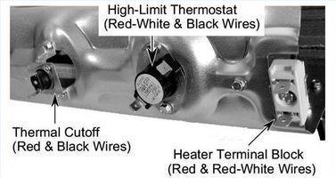 Cómo cambiar un termostato en un Duet Whirlpool secadora