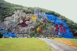 Cómo pintar las paredes de roca