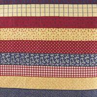 Cómo hacer un borde festoneado en un tejido con revestimiento