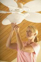 ¿Cómo un ventilador de techo para una habitación de tamaño