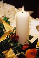 Cómo hacer un arreglo Floral con velas