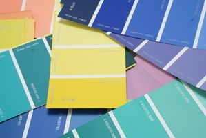 Colores de pintura de Interior popular de la casa