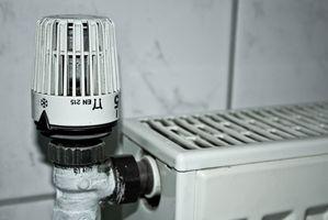El precio medio de un calentador de pared