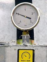 Cómo probar la olla de presión calibradores