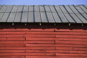 Cómo pintar un techo de galpon