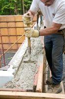 Cómo mezclar cemento en frío