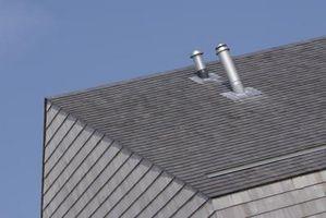 Cómo instalar respiraderos del baño a través del techo ...